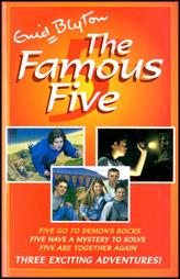 The Famous Five :Five Go To Demon'S Rocks,Five Have A Mystery To Solve,Five Are Together Again