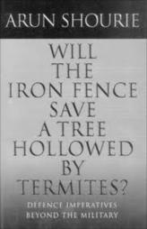 Will The Iron Fence Save A Tree Hollowed By Termites ?
